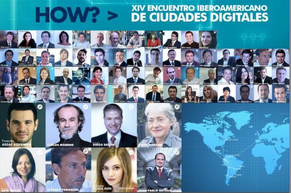 Ponentes de Ciudades Digitales 2013